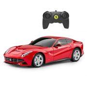 Rastar 48100 Távirányítós autó 1:24-es méretaránnyal - Ferrari F12 Berlinetta (piros)