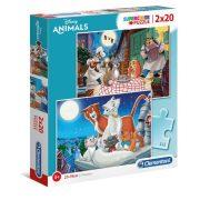 Clementoni 24764 SuperColor Puzzle - Disney Állati barátságok (2x20db)