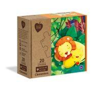 Clementoni 24771 Play for Future puzzle - Ölelkezés (2x20 db)