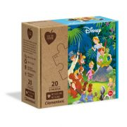 Clementoni 24774 Play for Future puzzle - Dzsungel könyve és Pán Péter (2x20 db)