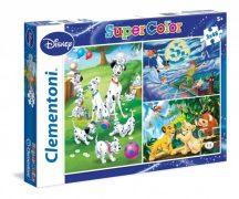Clementoni Super Color puzzle - Disney Classic (3x48 db-os) 25212