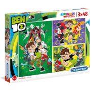 Clementoni 25225 SuperColor puzzle - Ben 10 (3x48 db)