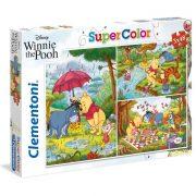 Clementoni 25232 SuperColor puzzle - Micimackó és barátai (3x48 db)