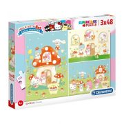 Clementoni 25246 SuperColor Puzzle - Hello Kitty (3x48 db)