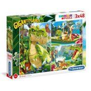 Clementoni 24779 SuperColor Puzzle - Gigantosaurus (3x48 db)