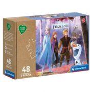 Clementoni 25255 Play for Future puzzle - Jégvarázs 2 (3x48 db)