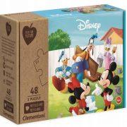 Clementoni 25256 Play for Future puzzle - Mickey egér és barátai (3x48 db)