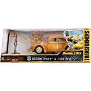 Jada 30114 Hollywood Rides Transformers fém autómodell - VW Beetle Bumblebee és Charlie