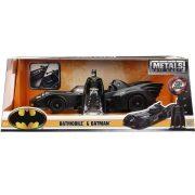 Jada Batman autómodell - 1989 Batmobil és Batman