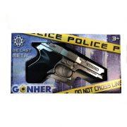 Police Smith & Wesson patronos játékpisztoly (20 cm)