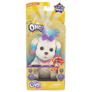 OMG Pets interaktív énekes kiskutya - Szivárvány Pop