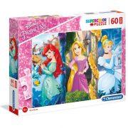 Clementoni 26416 SuperColor Maxi puzzle - Disney hercegnõk (60 db)