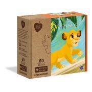 Clementoni 27002 Play for Future puzzle - Oroszlánkirály (60 db)