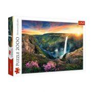Trefl 27091 Premium Quality puzzle - Haifoss vízesés (2000 db)