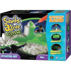 Sands Alive! Világító homokgyurma kezdőkészlet