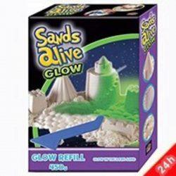 Sands Alive! Sötétben világító homokgyurma