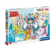 Clementoni 27518 SuperColor Puzzle - Tom és Jerry (104 db)