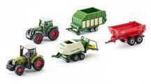 SIKU 6286 5 db-os Mezőgazdasági munkagépek készlet