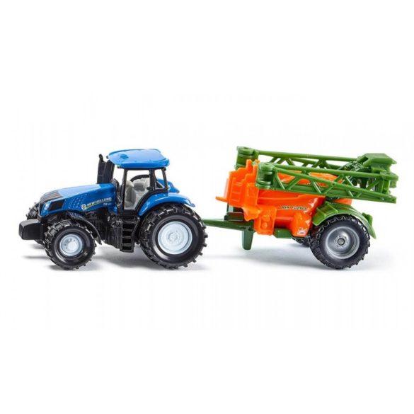SIKU 1668 Traktor géppel