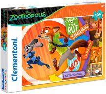 Clementoni 27968 puzzle - Állati Nagy Balhé (104 db-os)