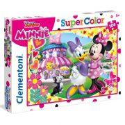 Clementoni 27982 SuperColor puzzle - Minnie egér és Daisy kacsa (104 db)