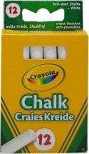 Crayola - Táblakréta fehér / 12 db