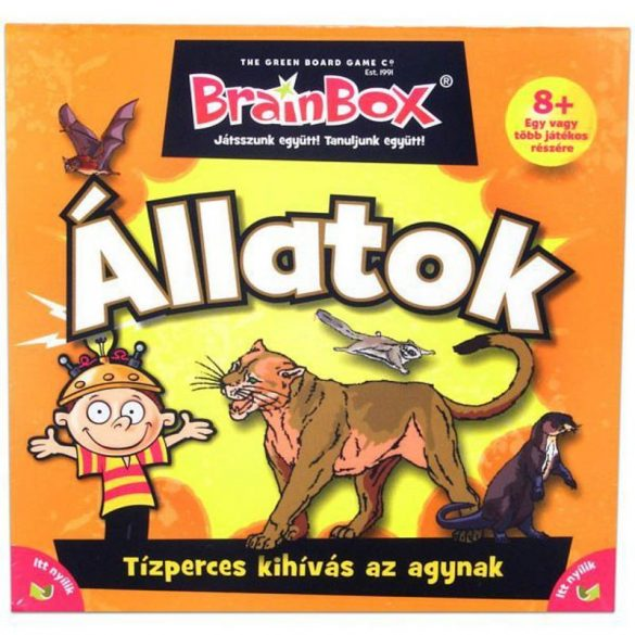 Brainbox Állatok társasjáték