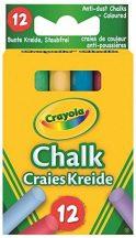 Crayola - Táblakréta színes / 12 db