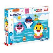Clementoni 28519 SuperColor Maxi Puzzle - Baby Shark (24db)