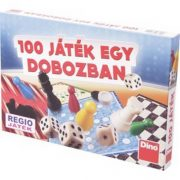 Dino 100 játék egy dobozban társasjáték
