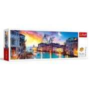 Trefl 29037 panoráma puzzle - Canal Grande, Velence (1000 db)