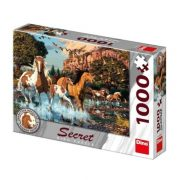 Dino 532649 Secret Collection Puzzle - Lovak (1000 db-os)