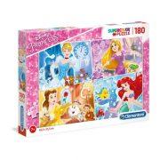 Clementoni 29294 SuperColor Puzzle - Disney Hercegnők (180 db-os)