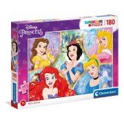 Clementoni 29311 SuperColor Puzzle - Disney hercegnõk (180 db)