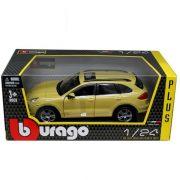 Bburago 1/24 modell autó - Porsche Cayenne Turbo 1/24 (Sárga)