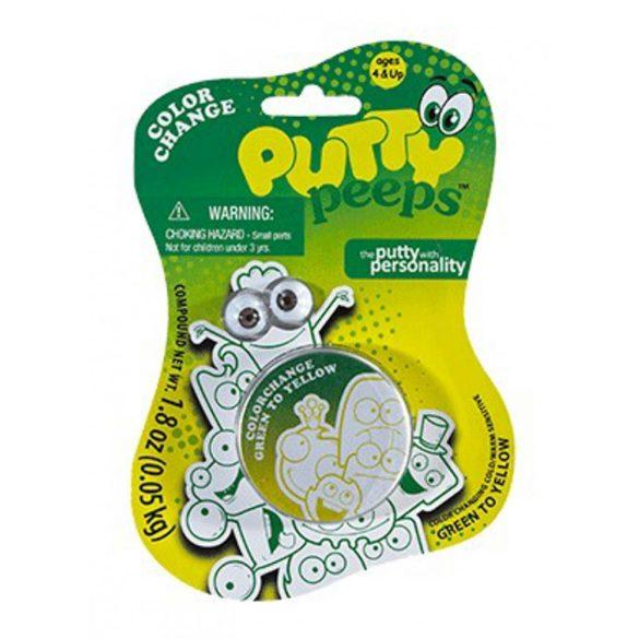 Színváltós Putty gyurma - zöld és citromsárga