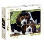 Clementoni 30289 High Quality Collection Puzzle - Kiskutyák (500 db-os)