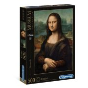 Clementoni 30363 Museum Collection Puzzle - Leonardo Da Vinci, Mona Lisa (500 db)