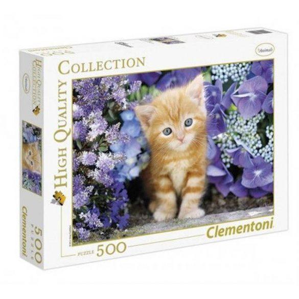 Clementoni 30415 High Quality Collection puzzle - Vörös kiscica (500 db-os)