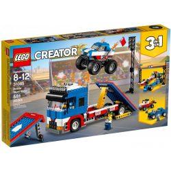 LEGO Creator 31085 Mobil kaszkadőr bemutató