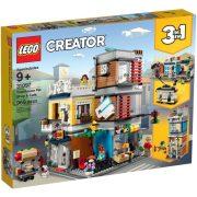 LEGO Creator 31097 Városi kisállat kereskedés és kávézó