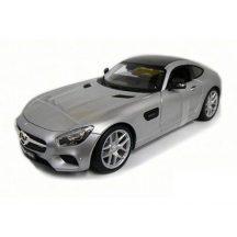 Maisto Special Edition 1/24 fém játék autó - MERCEDES AMG GT (EZÜST)