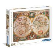 Clementoni 31229 High Quality Collection puzzle - Antik világtérkép (1000 db)