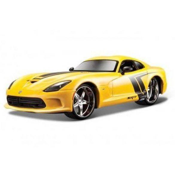 1:24 2013 SRT Viper GTS játékautó