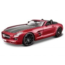 Maisto Design Exotics 1/24 fém játék autó - Mercedes-Benz SLS AMG Roadster (PIROS)