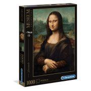 Clementoni 31413 Museum Collection Puzzle - Leonardo Da Vinci, Mona Lisa (1000db)