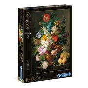 Clementoni 31415 Museum Collection Puzzle - Van Dael, Csendélet gyümölcsökkel (1000db-os)