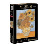Clementoni 31438 Museum Collection puzzle - Van Gogh: Napraforgók (1000 db)