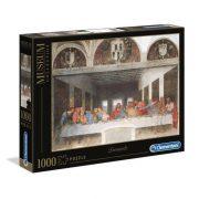 Clementoni 31447 Museum Collection Puzzle - Leonardo Da Vinci, Utolsó vacsora (1000 db-os)
