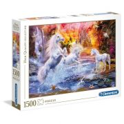 Clementoni 31805 High Quality Collection puzzle - Vad unikornisok (1500 db)